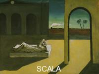 De Chirico, Giorgio (1888-1978) The Soothsayer's Recompense, 1913