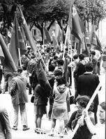 ******** Roma 1968.  Manifestazione universitaria