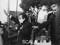 ******** Roma 1968. Manifestazione di esponenti della destra