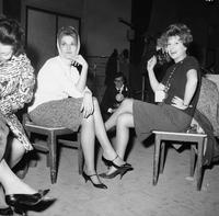 ******** Mina e Miranda Martino, prove per Sanremo 1960