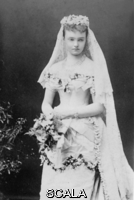 ******** Duchess of Connaught on her wedding day. Princess Luise Margarete of Prussia, Duchess of Connaught (1860-1917) on her wedding day, 13 March 1879 to Prince Arthur, third son of Queen Victoria.  Vicky, Crown Princess of Prussia introduced Luise Margarete to Prince Arthur during a visit to Berlin in 1878.  The couple had three children: Princess Margaret ('Daisy') of Connaught (later Crown Princess of Sweden), Prince Arthur of Connaught and Princess Patricia of Connaught (Lady Patricia Ramsey).. The Illustrated London News. 13th March 1879. .