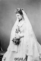 ******** Princess Louise on her wedding day. Princess Louise, Duchess of Argyl (1848-1939) on her wedding day on 21st March 1871.  Louise married John Campbell, Marquess of Lorne, heir to the 8th Duke of Argyl, the only one of Queen Victoria's children to marry a British nobleman and the only one to remain childless.  She was a talented artist and sculptress.  Her statue of Queen Victoria stands outside Kensington Palace and a memorial to the fallen of the Boer War can be seen in St. Paul's Cathedral.. The Illustrated London News. 21st March 1871. .
