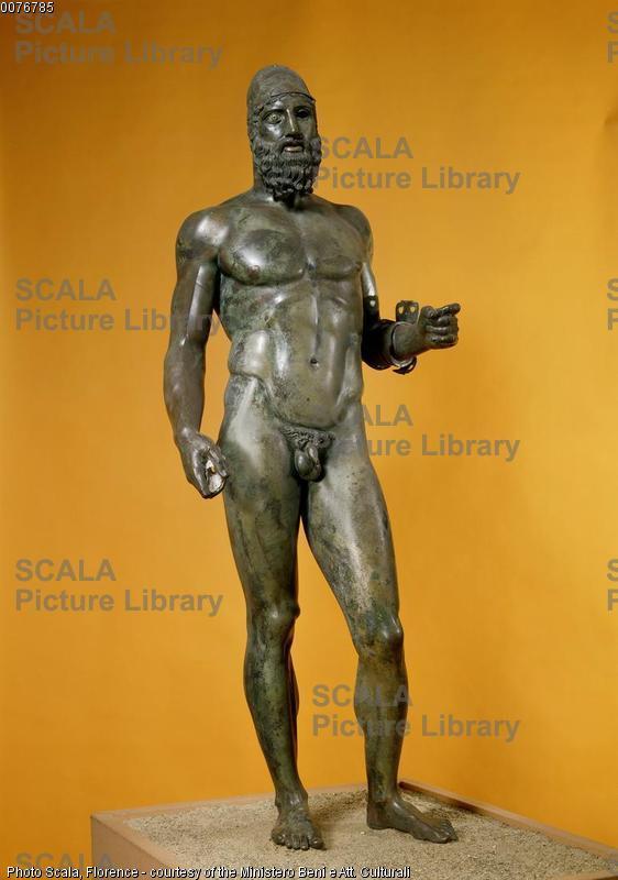 Arte greca Bronzo di Riace B