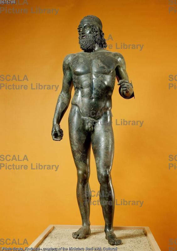Arte greca Bronzo di Riace A