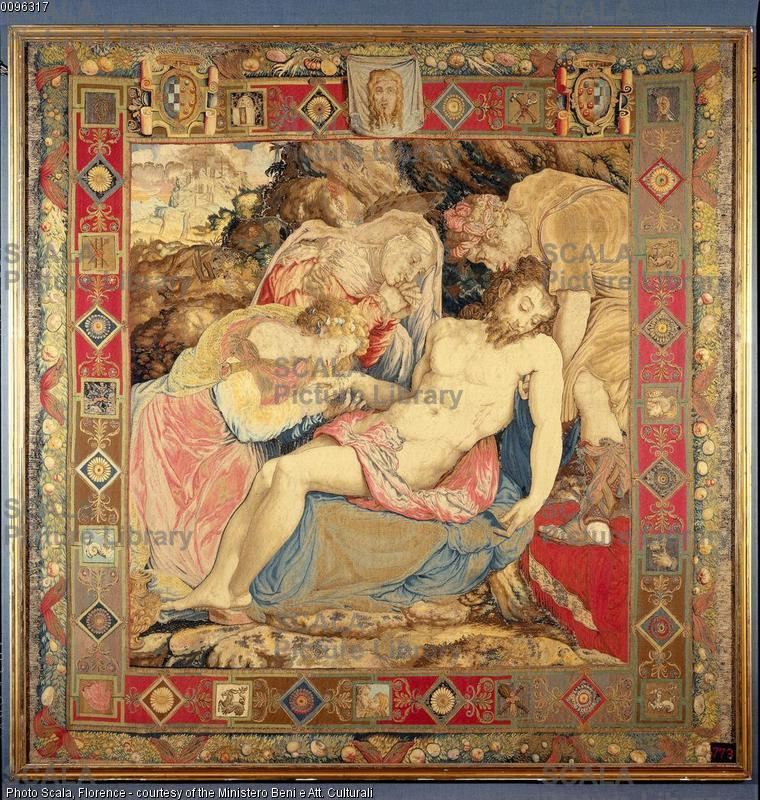 Salviati, Francesco (1510-1563) Deposizione dalla croce