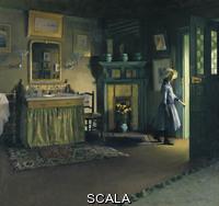 Lobre, Maurice (1862-1951) The Bathroom of Jacques-Émile Blanche, 1888