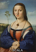 Raffaello (1483-1520) Ritratto di Maddalena Doni