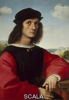 Raphael (1483-1520) Portrait of Agnolo Doni