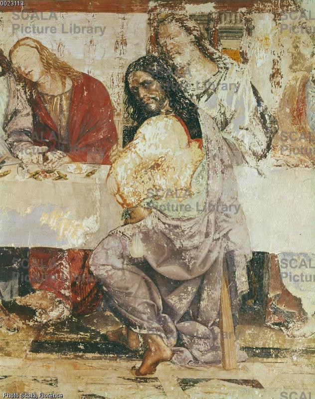 Sodoma (1477-1549) Ultima cena - p. (Giuda)
