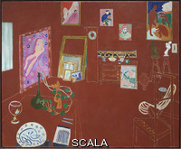 Matisse, Henri (1869-1954) The Red Studio. Issy-les Moulineaux, 1911