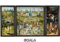 Bosch, Hieronymus (1450 ca.-1516) Trittico del giardino delle delizie, o il quadro del corbezzolo, 1500 - 1505