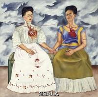 Kahlo, Frida (1907-1954) Les deux Frida, 1939. Huile sur toile, 67 x 67 cm