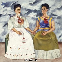 Kahlo, Frida (1907-1954) Le due Frida, 1939