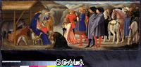 Masaccio (1401-1428) Polittico di Pisa: predella, adorazione dei magi, 1426