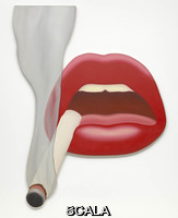 Wesselmann, Tom (1931-2004) Smoker 1 (Mouth 12), 1967