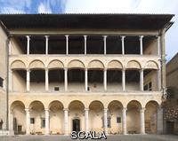 Rossellino, Bernardo (1409-1464) Open gallery on the back side