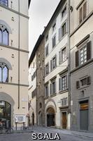 ******** View of Via Monalda from Piazza Strozzi