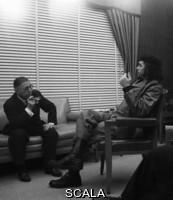 Korda (Diaz Gutierrez, Alberto, 1928-2001) Jean-Paul Sartre et le Che a Cuba (detail), 1960