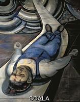 Siqueiros, David Alfaro (1896-1974) Per la la completa sicurezza di tutti i Messicani al Lavoro - part. di un lavoratore ferito