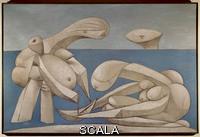 Picasso, Pablo (1881-1973) On the Beach, (La Baignade), February 12, 1937