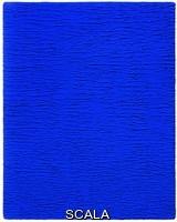 Klein, Yves (1928-1962) Monochrome bleu sans titre, (IKB 67). 1959