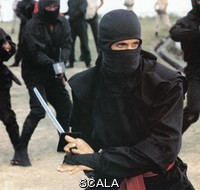 ******** American Ninja . 1985. Strictly editorial use only. Credit line mandatory. Book cover use must be cleared with Mary Evans.