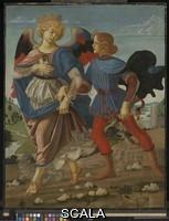 Verrocchio, Andrea del (1436-1488), scuola Tobias and the Angel, 1470-80