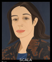 Katz, Alex (b. 1927) Black and Brown Blouse, 1976. Oil on canvas. 72 x 60 in. (182.9 x 152.4 cm). George A. Hearn Fund, 1978 (1978.9)
