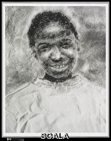 Muniz, Vik (b. 1961) Jacinthe Loves Orange Juice, 1996. Gelatin silver print, 33.7 x 26.7 cm (13 1/4 x 10 1/2 in. ). Gift of the artist and Marion A. Tande, 1997 (1997.234). Copy Photograph © The Metropolitan Museum of Art