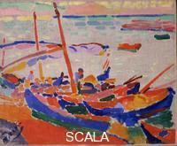 Derain, Andre' (1880-1954) Barche di pescatori. Collioure, 1905