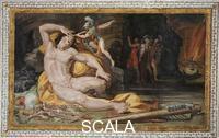 Tibaldi, Pellegrino (1527-1596) Pellegrino Tibaldi (1527-1596); Ulysse aveuglant Polypheme; Palais Poggi; Bologne