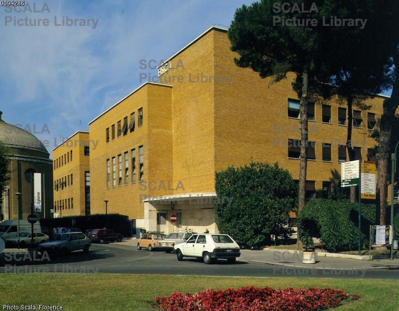 Piacentini, Marcello (1881-1960) Citta' universitaria - particolare
