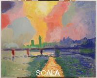 Derain, Andre' (1880-1954) Il ponte di Charing Cross, Londra, 1905-6