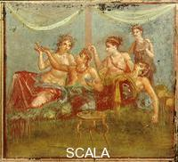 Roman art Banquet or The Lovers