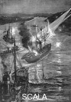 ******** Ship battle at the Russo-Japanese War, 1904.
