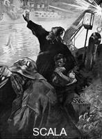 ******** Russian Baltic Fleet attacking fishing boats, Russo-Japanese War, 1904-5.