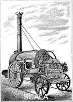 ******** George Stephenson's locomotive 'Rocket', c1875.