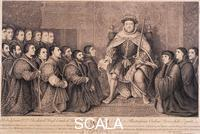 Baron, Bernard (1696-c. 1766) King Henry VIII surrounded by kneeling figures, 1736