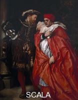 Gilbert, Sir John (1817-1897) 'Ego et Rex Meus', 1888; King Henry VIII and Cardinal Wolsey
