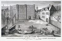 Howlett, Bartholomew (1767-1827) Custom House, London, c. 1815