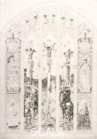 Wright, John (c. 1745-1820) East window in St Margaret, Westminster, depicting the crucifixion, London, 1787