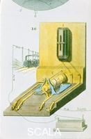 ******** Rear view of Charles Wheatstone's electric (railway) telegraph, 1850.
