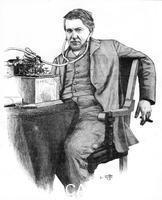 ******** Thomas Alva Edison, American inventor, c1906.