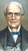 ******** Thomas Alva Edison, American inventor, 1924.