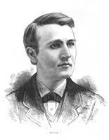 ******** Thomas Alva Edison, American inventor, c1879.