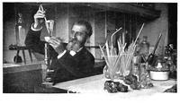 ******** Henri Moissan, French chemist, c1900.