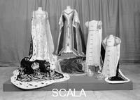 ******** Coronation robes of Queen Victoria, Elizabeth & Princesses Elizabeth and Margaret