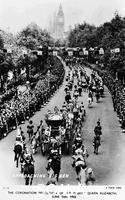 ******** Queen Elizabeth II's Coronation Procession, London, June 2nd 1953