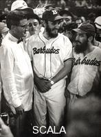 Korda (Diaz Gutierrez, Alberto, 1928-2001) Fidel Castro, Camilo Cienfuegos et Roberto Maduro