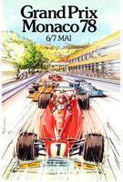 Giampaoli, Alain (b. 1946) Monaco - Grand prix automobile F1, 1978